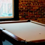 Urban Loft Pool Table by ETU Photography